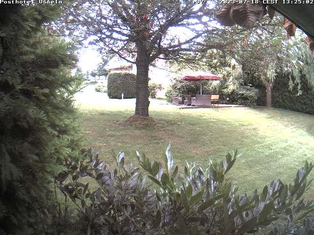 Posthotel Usseln Webcam